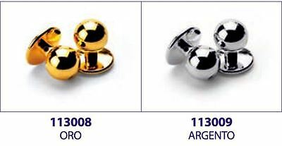 Set 10 Pieces Buttons Isacco Colour Gold or Silver x Chef Jacket