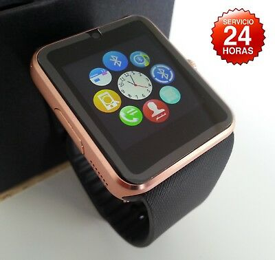 Smartwatch Reloj Inteligente Phone GT08 Android IOS Bluetooth SIM GOLD ED. 24HS