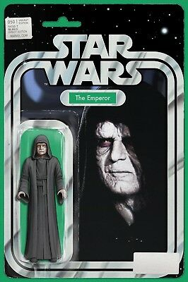 Star Wars 50 John Tyler Christopher Emperor Action Figure Variant Nm