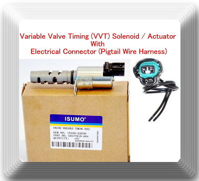 Variable Timing Solenoid Actuator W// Pigtail Connector VVT4201 Fits:Lexus Toyota
