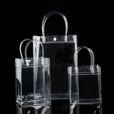 Clear Handbag Tote Bag NFL Stadium Approved Shopping Carrier gift Bag Fashion