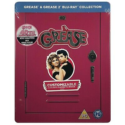 Grease Steelbook - UK Exclusive Limited Edition 40th Anniversary Blu-Ray