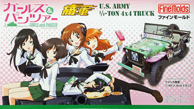Fine Molds 41103 Girls & Panzer US Army 1/4-Ton 4x4 Truck 1:20 scale kit