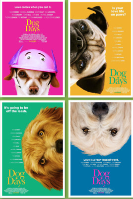 Dog Days 2018 FILM COVER Print Decor Movie Poster 40x27 36x24 18x12""