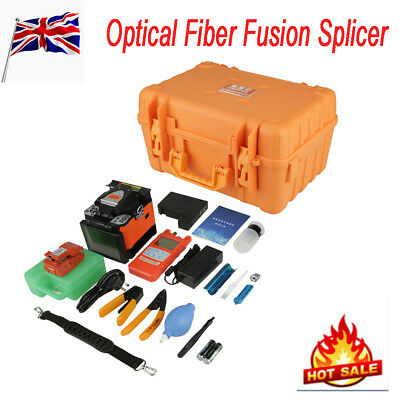 A-80S Fiber Optic Welding Splicing Machine Optical Fiber Fusion Splicer 100-240V