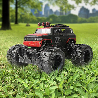 1/16 2.4G Electric  RC Fast Speed Car Remote Control Monster Truck RTR Model Red
