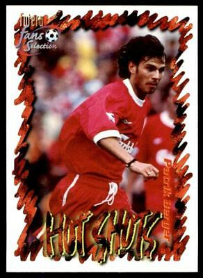 Futera Liverpool 1999 Cutting Edge Embossed Hot Shot and Vortex Cards CHOOSE!