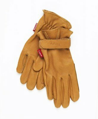 Toggi Bayham Deer Skin Riding Glove - Tan, Medium