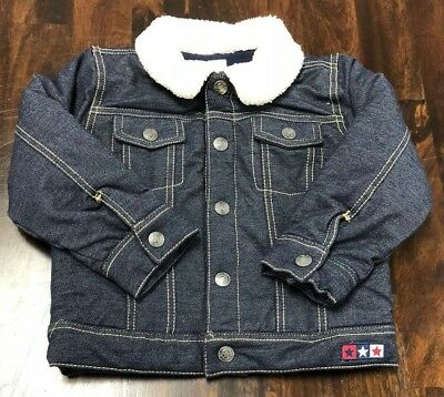 Clothing, Shoes & Accessories Sportease Little Girl Blue Jean Jacket Size 3t New Baby & Toddler Clothing