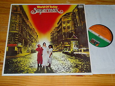 Supermax - World Of Today / Germany-Lp 1977