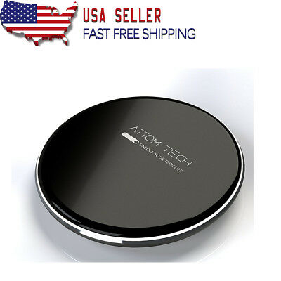 [Refurbished] Universal 7.5W Qi Wireless Phone Charger Compatible All Qi-Enabled