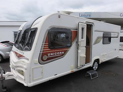 Bailey Unicorn Valencia S2 4 Berth Caravan With Fixed Bed And End Washroom .....