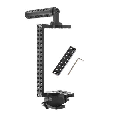 Video Camera Cage Top Handle Kit for Sony A7 A7R III A7S II A6500 A6300 GH4 GH5