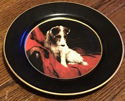 Raymond Waites Decorative Jack Russell Dog Plate Toyo Trading, Made In China