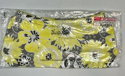 Thirty-One Gifts Fitted Purse Skirt ~ Awesome Blossom ~ BNWT - RETIRED