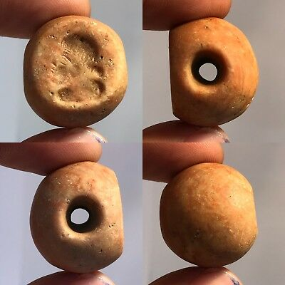 Very Old Lovely Ancient intaglio Stone Unique BEAD