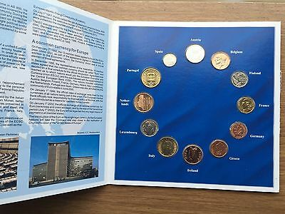 Euro Zone Countries Collections of the last Nations Coin Set. (BI#OFCE)