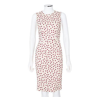 5986fb98e2a1 DOLCE   GABBANA Polka Dot Sleeveless Dress - Size 38 -  595.00 ...