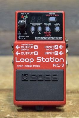 Boss RC-3 Loop Station Stereo Stompbox Looper Electric Guitar Effect Pedal
