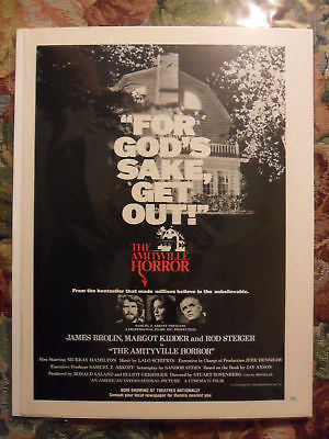1979 Print Ad The Amityville Horror Movie Preview Promo