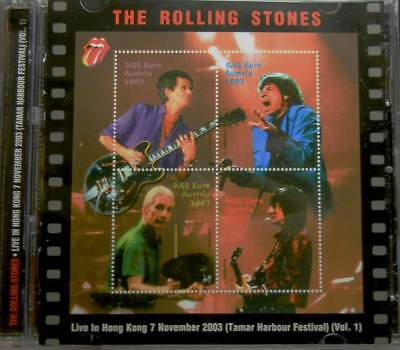 "ROLLING STONES""Live in Hong Kong 7 november 2003 (Vol.1)""2CD SRS RECORDS SEALED"
