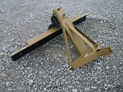 """3 Point Hitch Attachment - 72"""" 6' Rear Ditching Sliding Grader Blade - Ship $199"""
