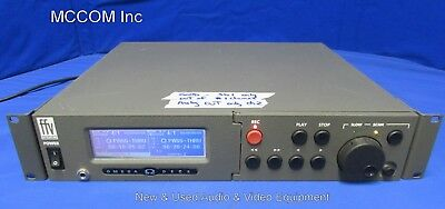 Fast Forward Video Omega 2 Chan Recorder Chan 1-SDI, Chan 2 Analog w/ drives