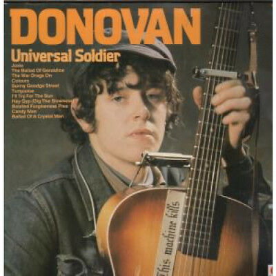 DONOVAN Universal Soldier LP VINYL UK Issue Pressed In Germany Spot 12 Track