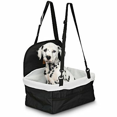 DOG BOOSTER SEAT – Dog Car Seat For Small Dogs – Pet Car Seat ...