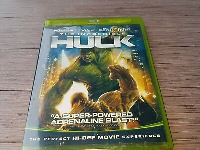 Marvel's THE INCREDIBLE HULK in Original Green Blu-ray Case