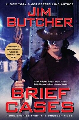 Brief Cases: More Stores From the Dresden Files [New Book] Hardcover, Series