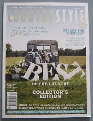 Country Style Magazine December 2015 - SAVE 25% Bulk Magazine Discount