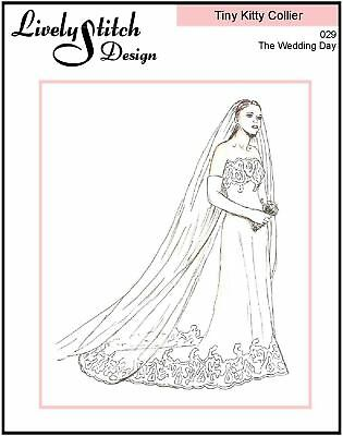 "The Wedding Day / sewing pattern for the 10"" Tiny Kitty Collier doll by Tonner"