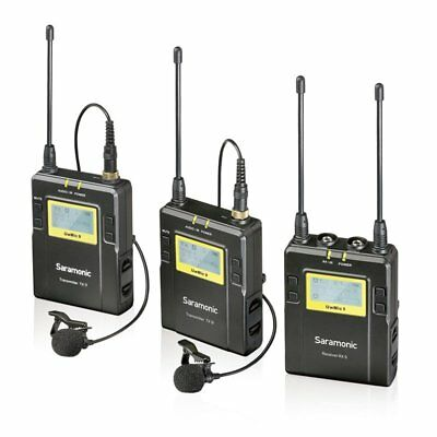 Saramonic RX9+TX9+TX9 96-Channel UHF Wireless Lavalier Microphone For Camera DV