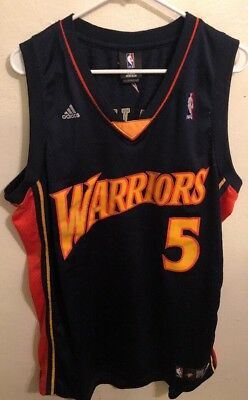 24d136af9 Authentic Adidas Golden State Warriors Baron Davis Jersey XL Swingman +2 AS  IS