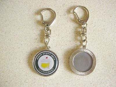 1 only ADAM SCOTT US MASTERS KEY RING CHAIN 2013 - GREAT ITEM