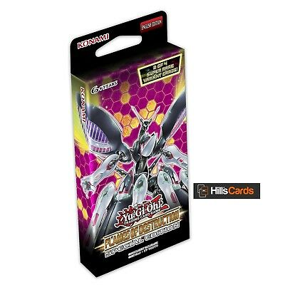 Yu-Gi-Oh: Flames Of Destruction Special Edition - Booster of 29 Cards Sealed box