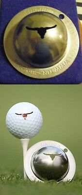 1 only TIN CUP GOLF BALL MARKER -JB RIB EYE - OUTBACK  - LONGHORN  EASY TO DO