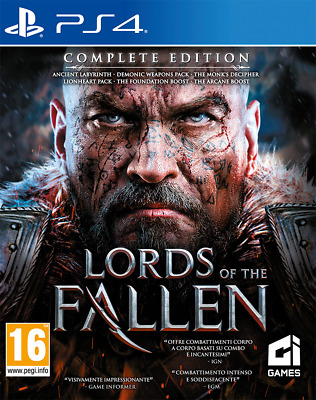 Lord Of The Fallen Complete Edition Videogame Ps4 Italiano Gioco Playstation 4