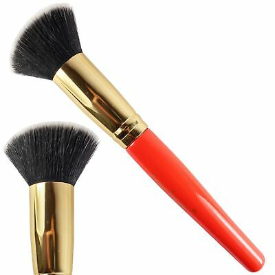 Technic Professional Stippling Make Up Brush Flat Edge Build Foundation Powder