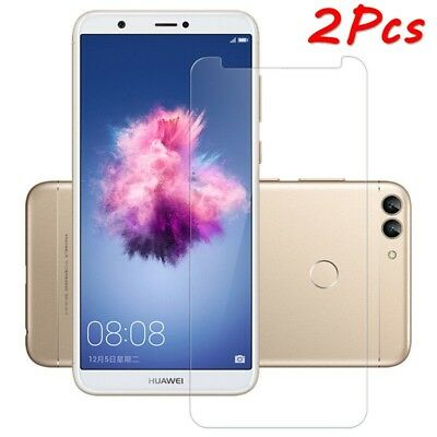 For Huawei P Smart/Enjoy 7S Tempered Glass 9H Premium Screen Protector Film 2Pcs