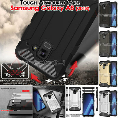 Samsung Galaxy A8 2018 TOUGH ARMOURED Shock Proof Hard Protective Case Cover