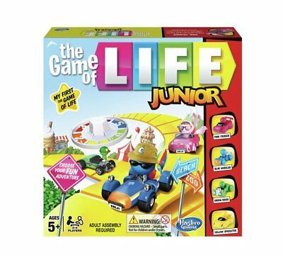 Game Of Life Junior Board Game From Hasbro Gaming Tons Of Fun With Amazing_NEW