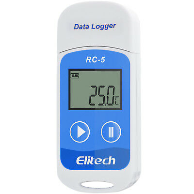 Temperature Data Logger Recorder USB ocean air highway transport RC-5 Elitech