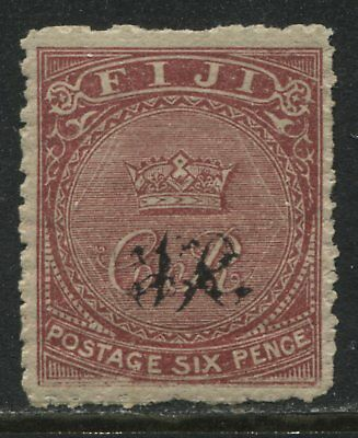 Fiji QV 1876 6d rose mint o.g.