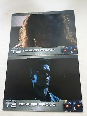 Terminator 2 Card Promo Dt1 Dt2 Unstoppable Cards 2017 Set Of 2