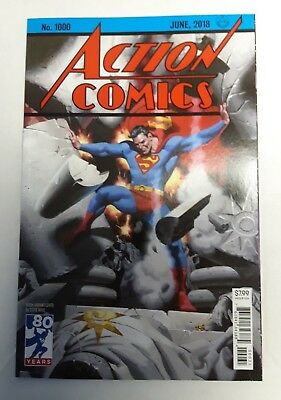 Action Comics #1000 Steve Rude 1930s Variant DC Comic Book NM 2018 Superman
