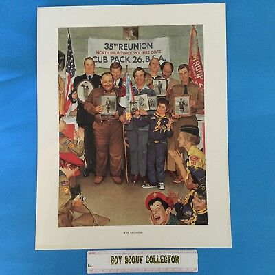 "Boy Scout Joseph Csatari Print 11""x14"" The Reunion"