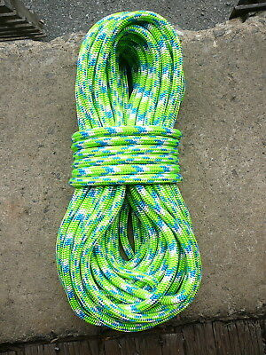 Tachyon Pink Arborist Climbing Rope 7,100lbs w\spliced eye Pink Grey and White
