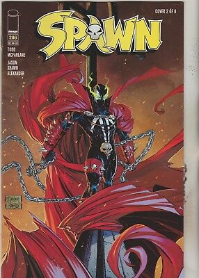 Image Comics Spawn #286 June 2018 Variant 2 1St Print Nm